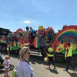 Brighton College float at Pride 2017